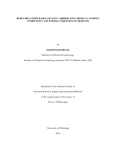 Chemical looping combustion phd thesis