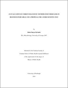 Essay on tuberculosis