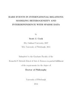 Phd dissertation international relations
