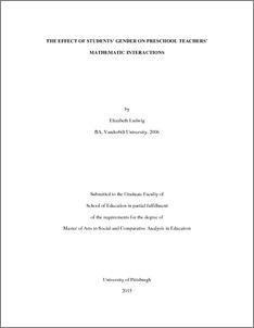 Thesis proposal presentation example